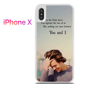One Direction Quotes 3 for iPhone X
