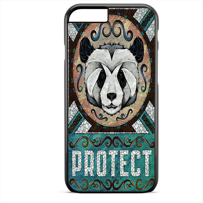 Panda Protect Phonecase For Iphone 4/4S Iphone 5/5S Iphone 5C Iphone 6 Iphone 6S Iphone 6 Plus Iphone 6S Plus
