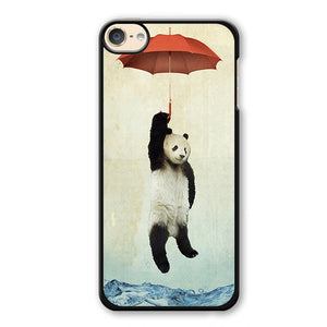 Panda Umbrella Phonecase Cover Case For Apple Ipod 4 Ipod 5 Ipod 6