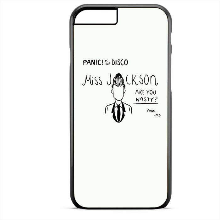 Panic At The Disco Miss Jackson Phonecase For Iphone 4/4S Iphone 5/5S Iphone 5C Iphone 6 Iphone 6S Iphone 6 Plus Iphone 6S Plus