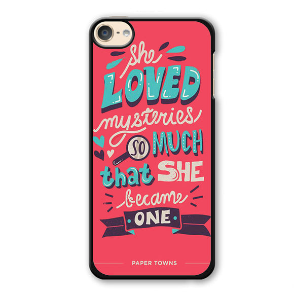 Paper Towns Quotes Phonecase Cover Case For Apple Ipod 4 Ipod 5 Ipod 6