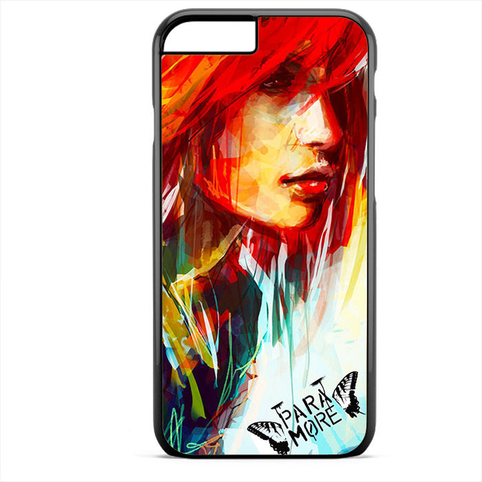 Paramore Art Painting Phonecase For Iphone 4/4S Iphone 5/5S Iphone 5C Iphone 6 Iphone 6S Iphone 6 Plus Iphone 6S Plus