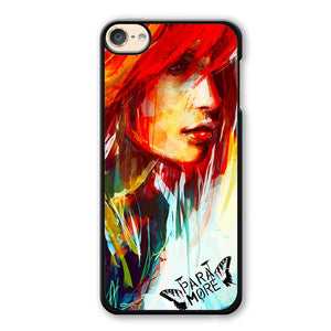 Paramore Art Painting Phonecase Cover Case For Apple Ipod 4 Ipod 5 Ipod 6