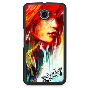 Paramore Art Painting Phonecase Cover Case For Google Nexus 4 Nexus 5 Nexus 6