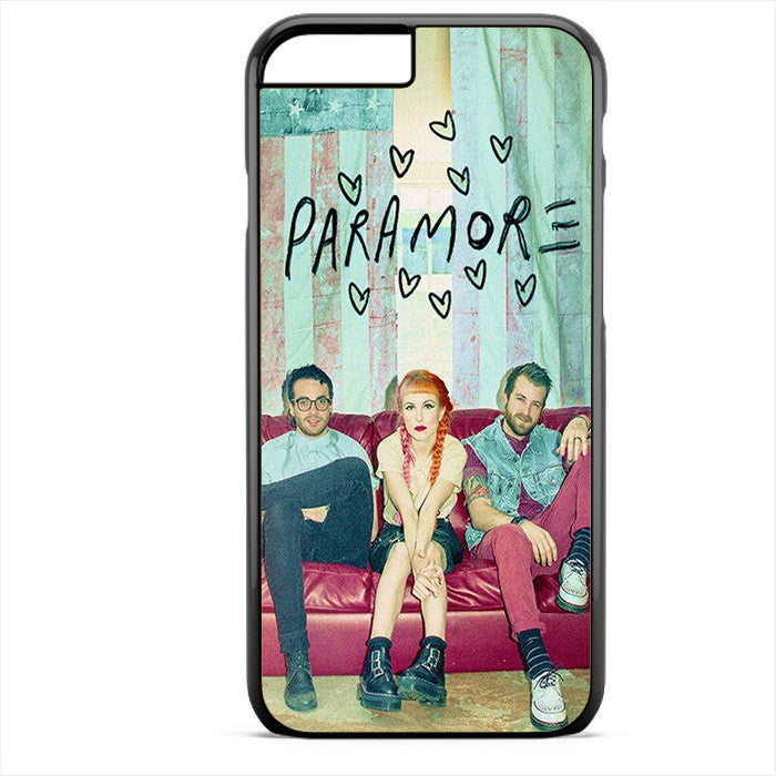 Paramore Crews 2 Phonecase For Iphone 4/4S Iphone 5/5S Iphone 5C Iphone 6 Iphone 6S Iphone 6 Plus Iphone 6S Plus