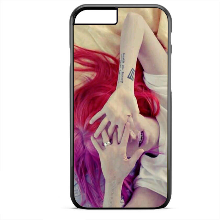 Paramore Haley Williams 2 Phonecase For Iphone 4/4S Iphone 5/5S Iphone 5C Iphone 6 Iphone 6S Iphone 6 Plus Iphone 6S Plus