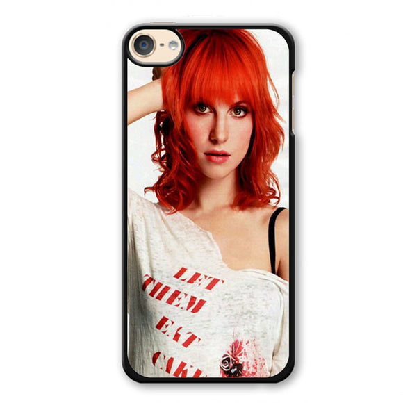 Paramore Haley Williams 5 Phonecase Cover Case For Apple Ipod 4 Ipod 5 Ipod 6