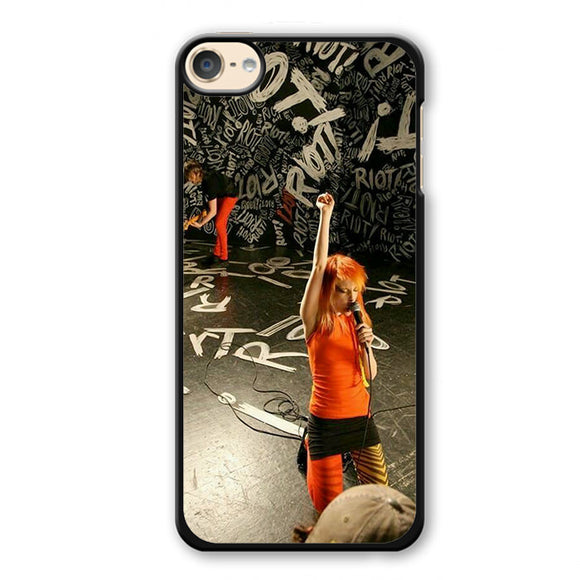 Paramore Haley Williams 8 Phonecase Cover Case For Apple Ipod 4 Ipod 5 Ipod 6