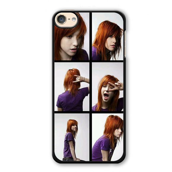 Paramore Haley Williams Expression 2 Phonecase Cover Case For Apple Ipod 4 Ipod 5 Ipod 6