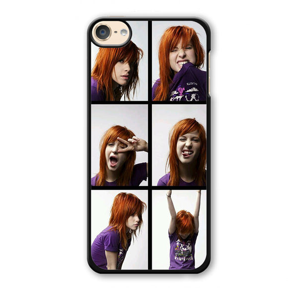 Paramore Haley Williams Expression Phonecase Cover Case For Apple Ipod 4 Ipod 5 Ipod 6