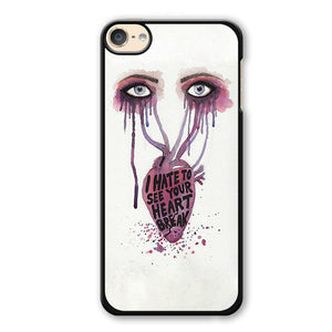 Paramore Quotes 2 Phonecase Cover Case For Apple Ipod 4 Ipod 5 Ipod 6
