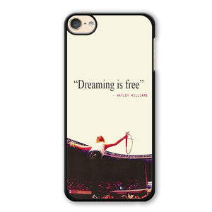 Paramore Quotes Phonecase Cover Case For Apple Ipod 4 Ipod 5 Ipod 6