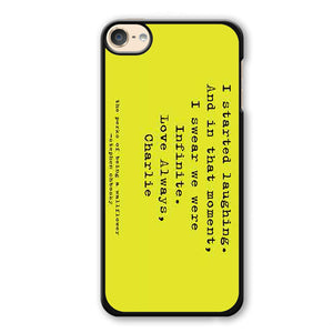 Perks Of Being A Wallflower Phonecase Cover Case For Apple Ipod 4 Ipod 5 Ipod 6