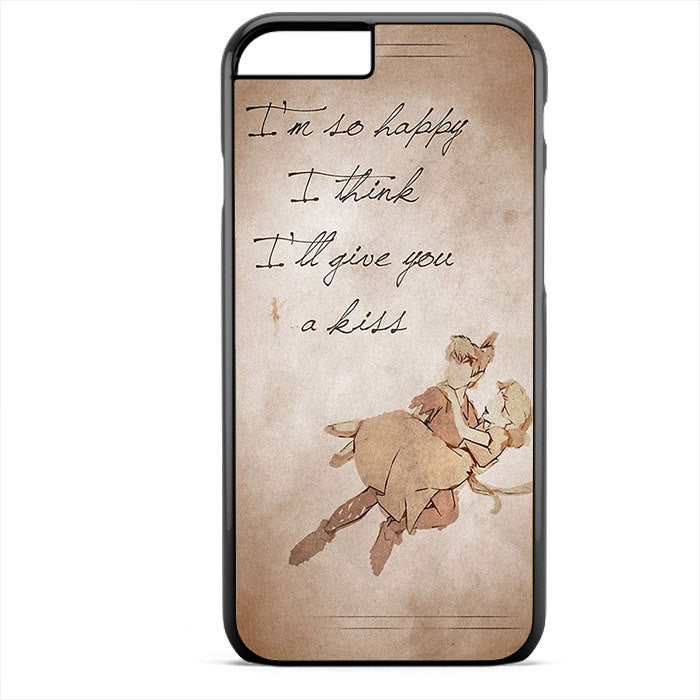 Peter Pan And Wendy Quote Phonecase For Iphone 4/4S Iphone 5/5S Iphone 5C Iphone 6 Iphone 6S Iphone 6 Plus Iphone 6S Plus