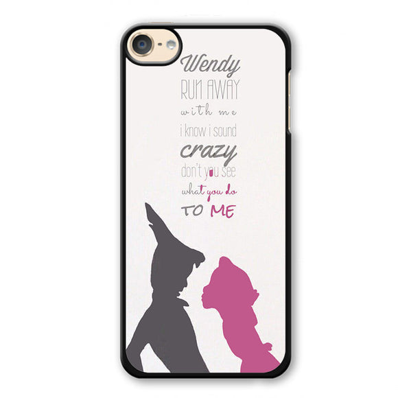Peter Pan And Wendy Phonecase Cover Case For Apple Ipod 4 Ipod 5 Ipod 6