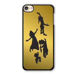 Peter Pan Gold Phonecase Cover Case For Apple Ipod 4 Ipod 5 Ipod 6