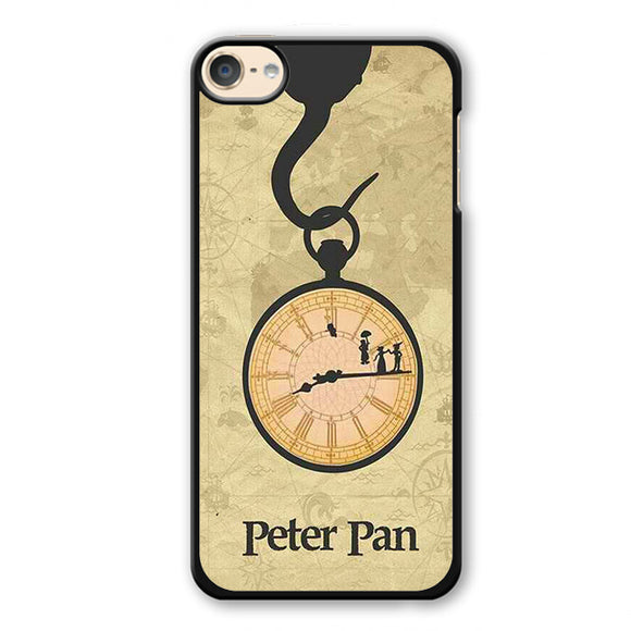 Peter Pan Run Out Time Phonecase Cover Case For Apple Ipod 4 Ipod 5 Ipod 6