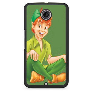 Peterpan Smile Cartoon Phonecase Cover Case For Google Nexus 4 Nexus 5 Nexus 6