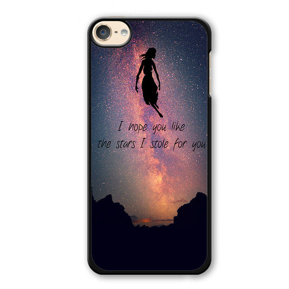 Pierce The Veil Lyrics Phonecase Cover Case For Apple Ipod 4 Ipod 5 Ipod 6