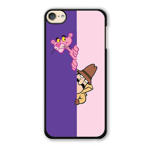 Pink Panther Cartoon Phonecase Cover Case For Apple Ipod 4 Ipod 5 Ipod 6