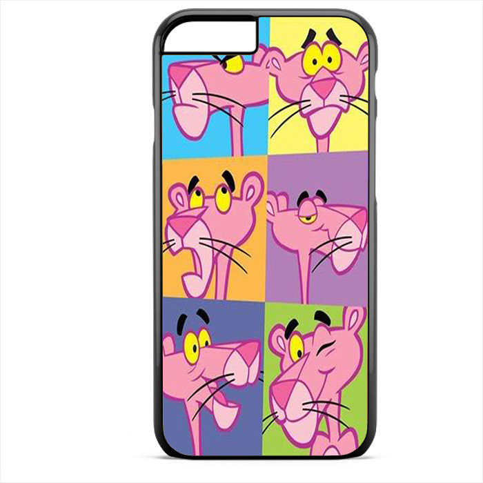 Pink Panther Faces Phonecase For Iphone 4/4S Iphone 5/5S Iphone 5C Iphone 6 Iphone 6S Iphone 6 Plus Iphone 6S Plus