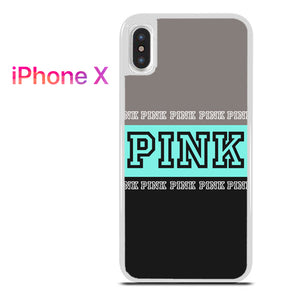 best service 11fa4 ced6c Pink Victoria's secret Limited style 1 for iPhone X