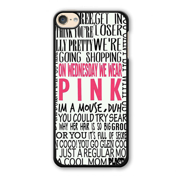 Pink On Wednesday 2 Phonecase Cover Case For Apple Ipod 4 Ipod 5 Ipod 6
