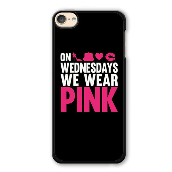 Pink On Wednesday 3 Phonecase Cover Case For Apple Ipod 4 Ipod 5 Ipod 6