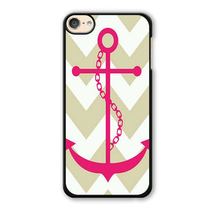 Pinky Anchor Phonecase Cover Case For Apple Ipod 4 Ipod 5 Ipod 6