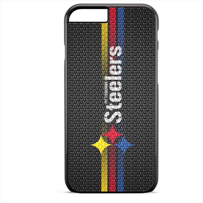 Pittsburgh Steelers Carbon 3 Stripe Phonecase For Iphone 4/4S Iphone 5/5S Iphone 5C Iphone 6 Iphone 6S Iphone 6 Plus Iphone 6S Plus
