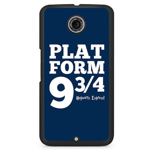 Platform 9 34 2 Phonecase Cover Case For Google Nexus 4 Nexus 5 Nexus 6