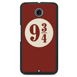 Platform 9 34 3 Phonecase Cover Case For Google Nexus 4 Nexus 5 Nexus 6