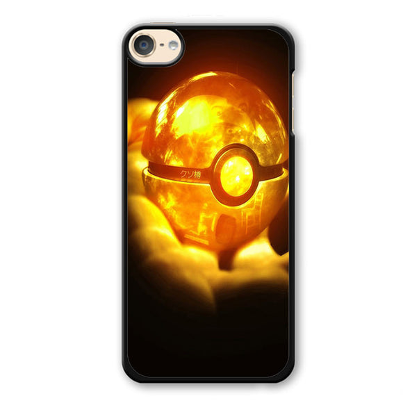 Pokeball Pokemon Phonecase Cover Case For Apple Ipod 4 Ipod 5 Ipod 6