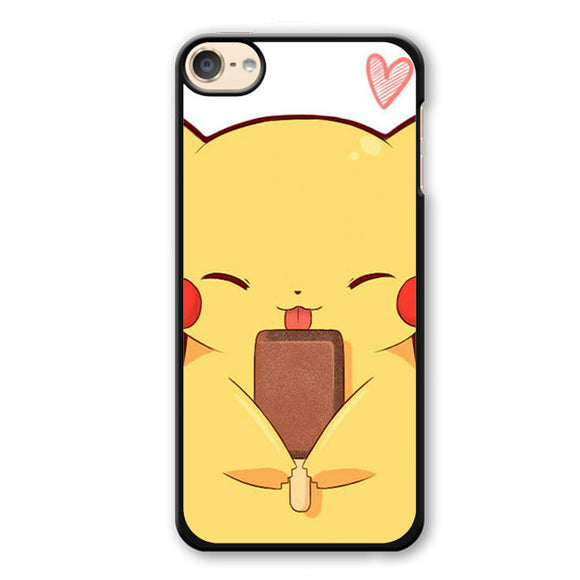 Pokemon Pikachu Touch Handphone Phonecase Cover Case For Apple Ipod 4 Ipod 5 Ipod 6