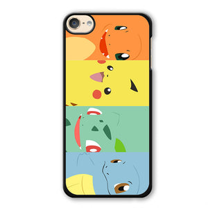 Pokemon Pocket Monster Bullbasaur Pikachu Phonecase Cover Case For Apple Ipod 4 Ipod 5 Ipod 6