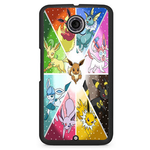 Pokemon Pocket Monster Glasses Phonecase Cover Case For Google Nexus 4 Nexus 5 Nexus 6