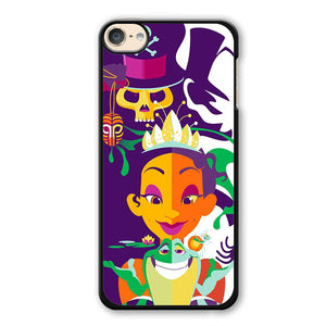 Princess Frog Retro Art Phonecase Cover Case For Apple Ipod 4 Ipod 5 Ipod 6