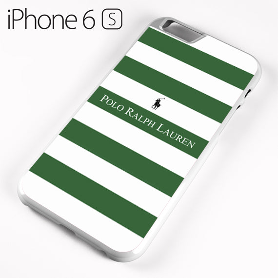 Ralph Lauren green white strips - iPhone 6 Case - Tatumcase