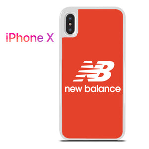 reputable site 8bcb1 4f2e2 Red New Balance for iPhone X