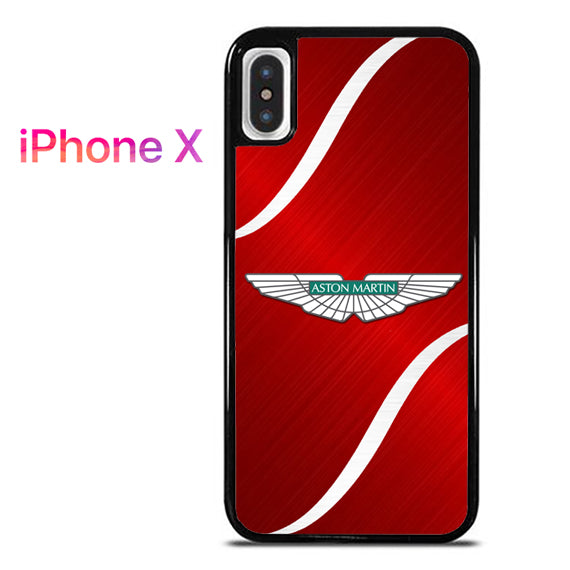 Red Polished Aston Martin - iPhone X Case - Tatumcase