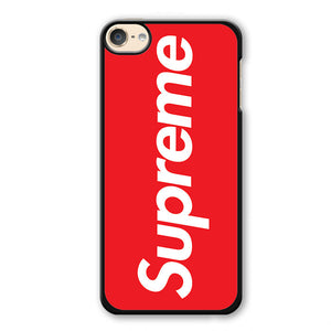 Red Supreme Phonecase Cover Case For Apple Ipod 4 Ipod 5 Ipod 6