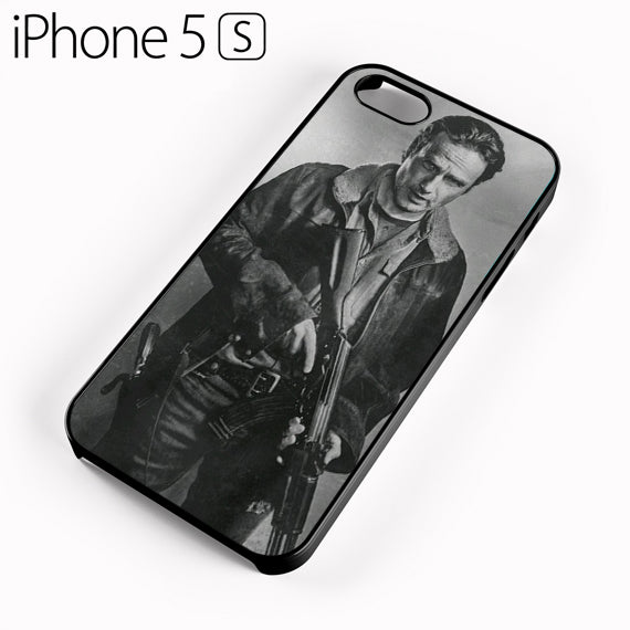 Rick Grimes The Walking Dead 2 Y - iPhone 5 Case - Tatumcase