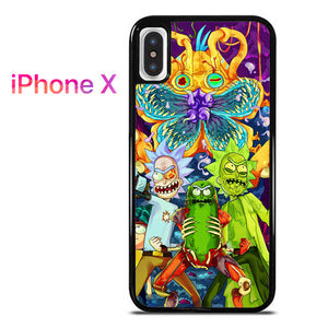super popular bf890 3c1db Rick and Morty 6 GT for iPhone X