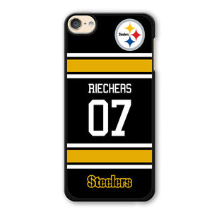 Riechers 07 Steelers Phonecase Cover Case For Apple Ipod 4 Ipod 5 Ipod 6