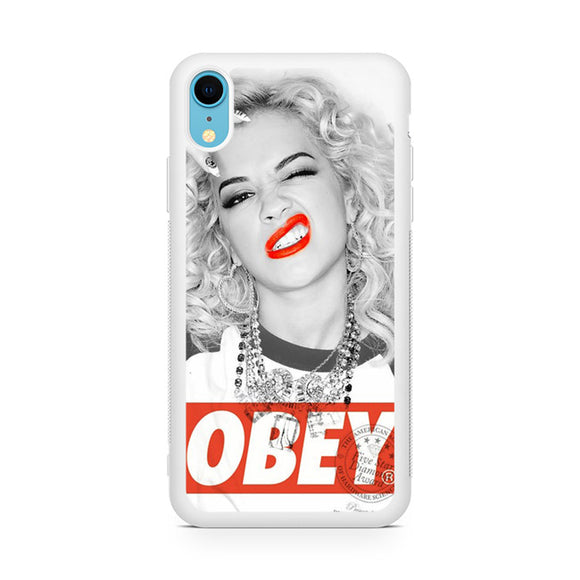 Rita Ora Obey,Custom Phone Case, iPhone XR Case, Tatumcase