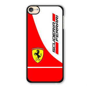 Scuderia Ferrari Logo Phonecase Cover Case For Apple Ipod 4 Ipod 5 Ipod 6