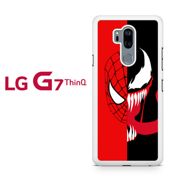 Spiderman And Venom Face, LG G7 ThinQ Case, Tatumcase