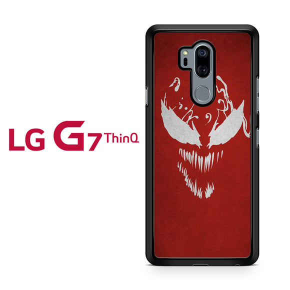 Spiderman Carnage Face 1, LG G7 ThinQ Case, Tatumcase