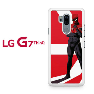 Spiderman Flag Pattern, LG G7 ThinQ Case, Tatumcase