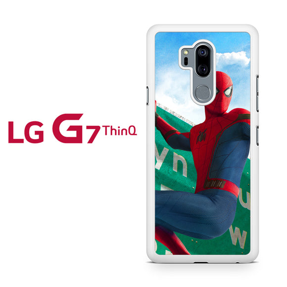 Spiderman Homecoming 1 HC, LG G7 ThinQ Case, Tatumcase